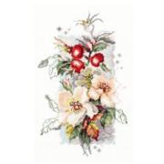 Набор для вышивания Чудесная Игла  №100-102 «Шиповник» 14*23 см