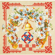 Набор для вышивания Чудесная Игла №88-09 «Любовь и верность» 26*26 см