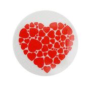 Световозвращающий значок 505803 «Сердце из сердец» 50 мм