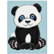 Алмазная мозаика Гранни AG2269 «Панда» 15*20 см