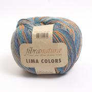 Пряжа Лима Колорс (Lima Colors Fibra natura )  шерсть 100% , 100 г / 260 м, 42144 м.волна-оранж