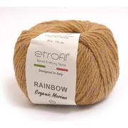 Пряжа Рейнбоу Органик Мерино (Rainbow Etrofil), 50 г / 150 м 162 горчица