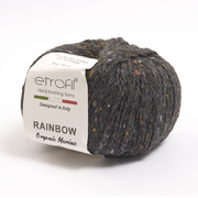 Пряжа Рейнбоу Органик Мерино (Rainbow Etrofil), 50 г / 150 м 167 т. серый