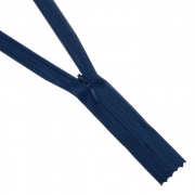 Молния Т3 потайная 20 см 117Б т.-синий