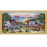 Набор для вышивания Dimensions 03896 «Уютное укрытие» 46*23 см