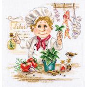 Набор для вышивания Алиса 6-11 «Шеф-повар» 16*17см