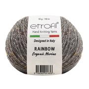 Пряжа Рейнбоу Органик Мерино (Rainbow Etrofil), 50 г / 150 м 129 т.серый