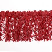 Бахрома меланж 10 см (уп. 16 м) бордо