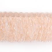 Бахрома меланж 10 см (уп. 16 м) кремовый