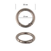Кольцо разъемное TBY.107911 d-20мм т.никель уп.10шт