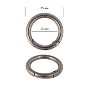 Кольцо разъемное TBY.107914 d-25мм т.никель уп.10шт