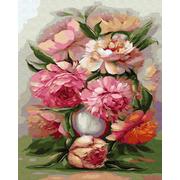 Картина по номерам Molly KH0666 Бузин. «Акварельный букет» 40*50 см