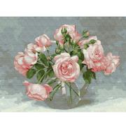 Картина по номерам Molly KK0661  «Розовая симфония» Бузин 30*40 см
