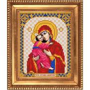 Рисунок для вышивания бисером Благовест И-5017 Владимирская 13,5*17см