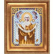 Рисунок для вышивания бисером Благовест И-5018 Покров пресвятой Богородицы 13,5*17см