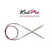 Спицы круговые Knit Pro  Nova Metal 100 см 3,0 мм/  10365 никелированная латунь