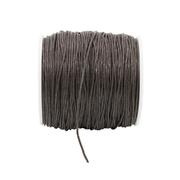 Шнур вощеный 1 мм 0371-9002   (уп. 100 м) чёрный 442461