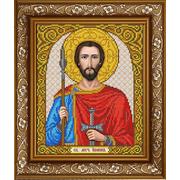 Рисунок на ткани «Славяночка А4 ИС-4042 Св. Иван Воин» 20*24,5 см