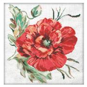 Набор для вышивания Матренин Посад 6007 «Маков цвет» 50*50 см