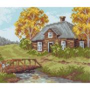 Рисунок на канве МП (28*37 см) 1019-1 «Околица»