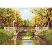 Рисунок на канве МП (37*49 см) 1144 «Очарование осени»