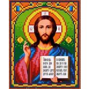 Рисунок для вышивания бисером Каролинка КБИ-5024  «Господь Вседержитель» 12,5*16 см