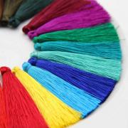 Кисти цветные для подушек 65 мм уп.12 шт. 7720017