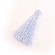 Кисти цветные для подушек 65 мм уп.12 шт. голубой
