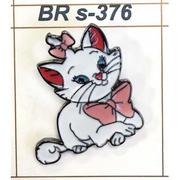 Брошь BR s-376 «Киска» арт.541491