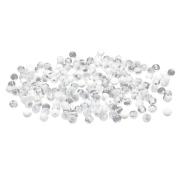 Бусины Астра пластик круглые полупрозрачные  4 мм (20 г) 033 прозрачный 7728459