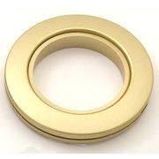 Люверсы шторные универс. d=35 мм №06 мат. светлое золото