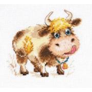 Набор для вышивания Алиса 0-212 «Бычок» 11*10 см