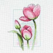 Набор для вышивания Созвездие К-376 «Тюльпаны» 20*25 см  557324