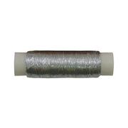Люрекс (катушки) MY-02 уп.12х100 м серебро