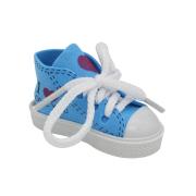 Обувь для игрушек (Кеды) AR 1045  3.5*4*7 см «I love you» синий 7728272