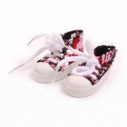 Обувь для игрушек (Кеды) AR 1053  3.5*4*7 см св.розовый блестящие 7728280