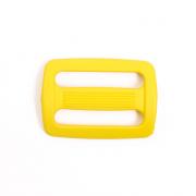 Пряжка двухщелевая 3 см ДЩ-30 498474  цв.23 желтый уп.10шт