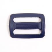 Пряжка двухщелевая 3 см ДЩ-30 498474  цв.57 т.синий уп.10шт