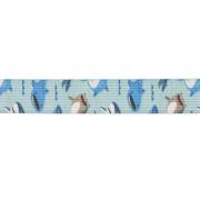 Резинка 20 мм с принтом «Акулы» (рул. 10 м) 7728669