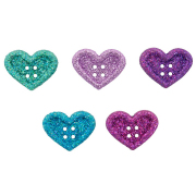 Фигурки 7 «Большие сердца» 7702350