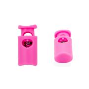 Фиксатор пласт. 203-М «цилиндр» малый д.4,5мм  19*9 мм цв. розовый уп.4шт 557107