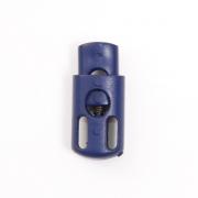 Фиксатор пласт. 27006 СС (цилиндр) 1 шнур  синий 65