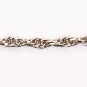 Цепочка K1830 стальная 9,9*7,2мм (уп. 10 м) никель