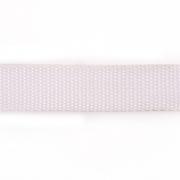 Ременная лента Китай 25 мм (рул. 100 м) белый
