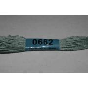Мулине х/б 8 м Гамма, 0662 св.-серый