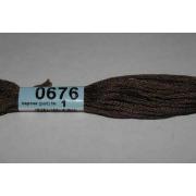Мулине х/б 8 м Гамма, 0676 т.-коричневый
