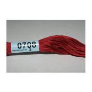Мулине х/б 8 м Гамма, 0708 св.-бордовый