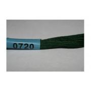 Мулине х/б 8 м Гамма, 0720 т.-зеленый