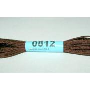 Мулине х/б 8 м Гамма, 0812 т.-коричневый