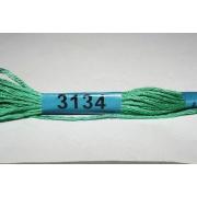 Мулине х/б 8 м Гамма, 3134 св.-зеленый